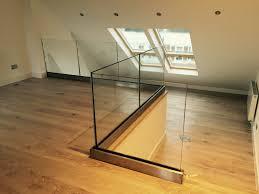 Glass Stair Rail by Best 25 Frameless Glass Balustrade Ideas On Pinterest Glass