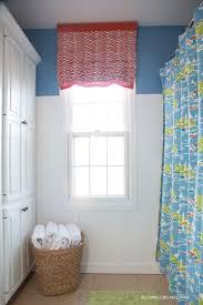 Window Curtain Ideas For Bathroom To Make Diy Roman Shade Make Your Own Roman Shade Tutorial