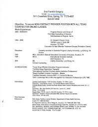 Sample Mental Health Counselor Resume Parole Officer Sample Resume