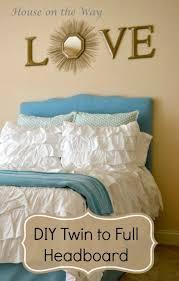 Diy Twin Headboard Ideas by 79 Best Bedroom Decor Ideas Images On Pinterest Bedroom Ideas