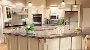 Kitchen Antique White Cabinets by Gallery York Countertops Cabinets And Tiles Kitchen Design