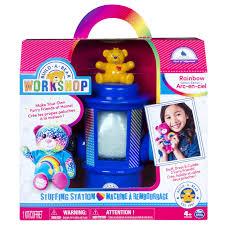 build a bear workshop stuffing station set rainbow bear toys