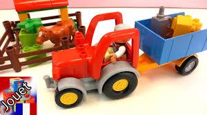 tracteur en bois démonstration lego numéro 10524 u2013 lego duplo tracteur avec
