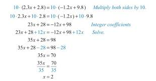 solving linear equations part ii multi step worksheet doc 3843cc33a13ee502e43a63f9dba