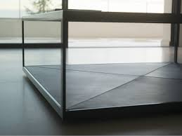 Square Glass Coffee Table by