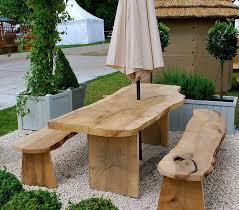 furniture 25 photos diy outdoor dining set designs diy rounded