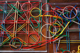 52 uses for rubber bands