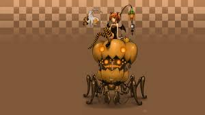 halloween background 1280x720 halloween anime hd wallpaper 1280x720 id 10688