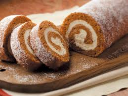 favorite pumpkin cake roll recipe taste of home