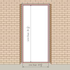 Standard Door Sizes Interior Uncommon Standard Exterior Door Size Standard Door Size Interior