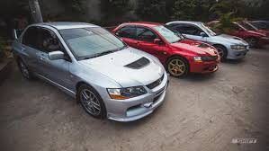 mitsubishi evolution 2018 the first meet in bangladesh among arch rivals from mitsubishi and