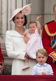 every time princess charlotte has twinned with her mom kate