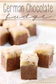 this german chocolate fudge will be the talk of the holidays