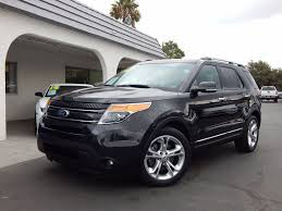 suv ford explorer 2015 used ford explorer like new carfax certified luxury suv at