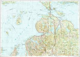 Topographic Map Of Michigan by Download Topographic Map In Area Of Petoskey Millersburg
