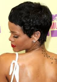 backside of short haircuts pics best 25 rihanna short haircut ideas on pinterest hair like
