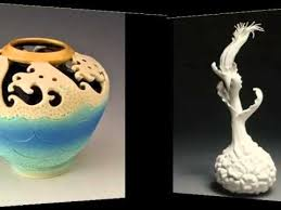 Ceramic Home Decor Colorful Easy Ceramic Sculptures Home Decor Picture Ideas With