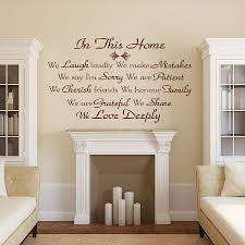 Wall Stickers For Home Decoration by Tips For Decorating Wall Decal Quotes Inspiration Home Designs