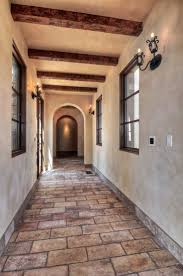 Hallway Wall Sconces Hallway Mediterranean Tuscan European Architecture High