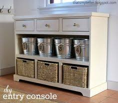 Kitchen Console Table With Storage Home Decorators Oxford Three Drawer Console Table With Open