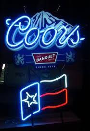 vintage coors light neon sign vintage neon signs neon lights pinterest vintage neon signs