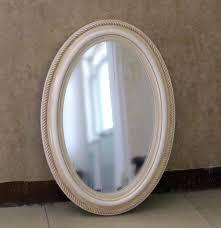 White Oval Bathroom Mirror Framed Oval Bathroom Mirror White Framed Cheap Oval Bathroom
