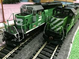ho scale burlington northern operation session