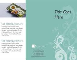 free printable beauty salon spa brochure templates u2013 brother