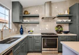white kitchen cabinets with slate countertops providence slate grey ready to assemble kitchen cabinets
