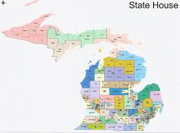 Saginaw Michigan Map by The Western Right Michigan Redistricting Official Republican
