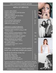 artistry makeup prices weddings joey claeyssen makeup artistry