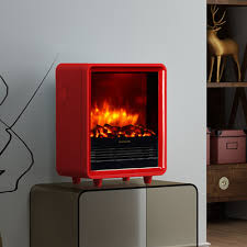 portable fireplace puraflame 12 red 1500w octavia portable electric fireplace