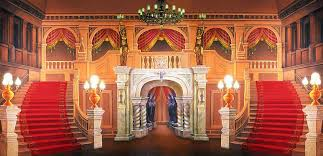 King Of Backdrops Majestic Mansion Foyer Scenic Stage Backdrop Rental Theatreworld