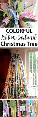 how to decorate a tree with ribbons in my own style
