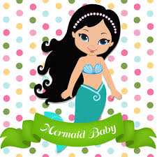 mermaid baby shower games and printables