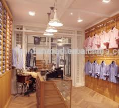 Interior Design Display Cabinet Clothing Retail Store Interior Design Wooden Display Cabinet