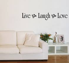 live laugh love 039 wall stickers quotes by parkins interiors live laugh love vinyl wall quote decal family home decor inspirational
