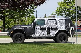 new jeep wrangler 2017 interior 2018 jeep wrangler interior spied for first time autoguide com news