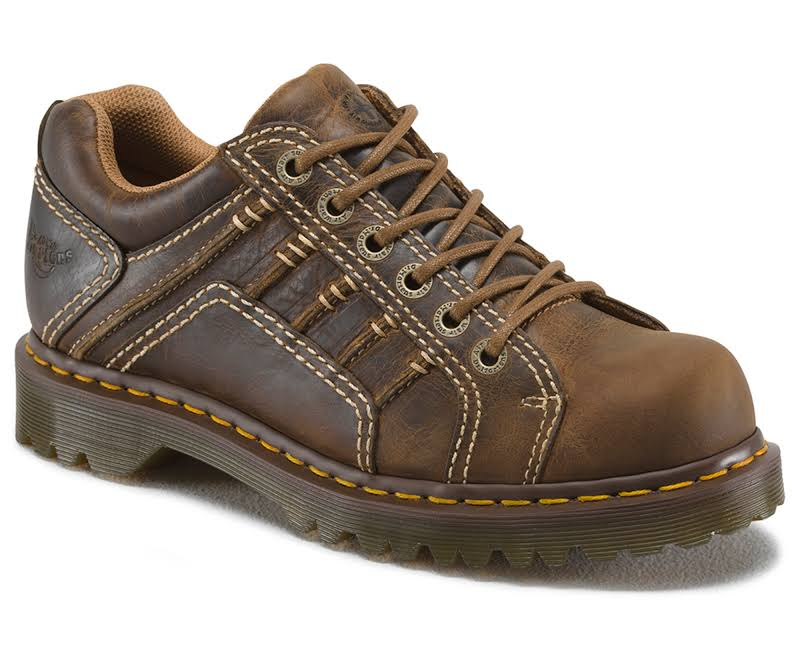 Dr. Martens Work Keith 6 Eye Padded Collar Shoe, Adult,