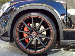 tires for mercedes file the tire wheel of mercedes gla45 amg 4matic edition 1