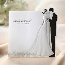 beautiful wedding invitations black white embossed beautiful wedding invitations bh 2069