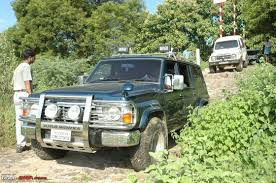 nissan safari lifted off roading pics nissan patrol page 2 team bhp