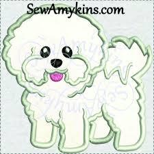 bichon frise quilt 157 best embroidery applique images on pinterest sconces