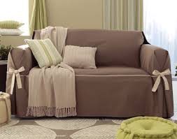 housse canapé et fauteuil housses fauteuil et canapés bicolores à nouettes becquet