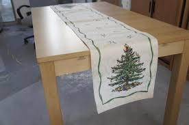 spode tree table runner rainforest islands ferry