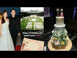 wedding cake song 171022 songsong wedding cake and wedding place where they