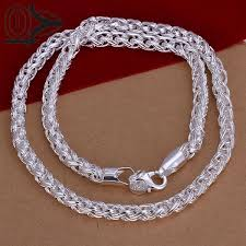 silver plated necklace images Buy new design wholesale silver plated necklace jpg