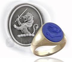 blue gem rings images Engraved gemstone rings jpg