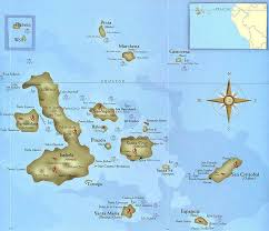 islands map where are the galapagos islands located