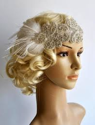 great gatsby headband flapper rhinestone gatsby headband wedding hairpiece rhinestone